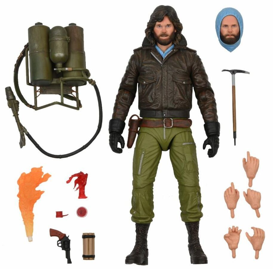 """PRE-ORDER Neca The Thing - 7"""" Scale Action Figure - Ultimate Macready v2 (Station Survival)"""