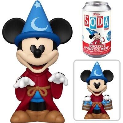 PRE-ORDER Vinyl SODA: Fantasia - Sorcerer's Apprentice Mickey Mouse