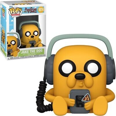 PRE-ORDER Adventure Time Jake with Player Pop! Vinyl Figure - 2nd Batch