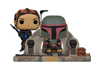 PRE-ORDER Star Wars: The Mandalorian Boba Fett and Fennec Shand Pop! Moment
