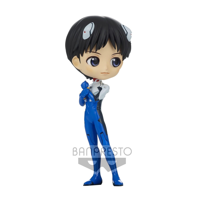 PRE-ORDER Banpresto Evangelion: New Theatrical Edition Q Posket Shinji Ikari Plugsuit Style Ver. A