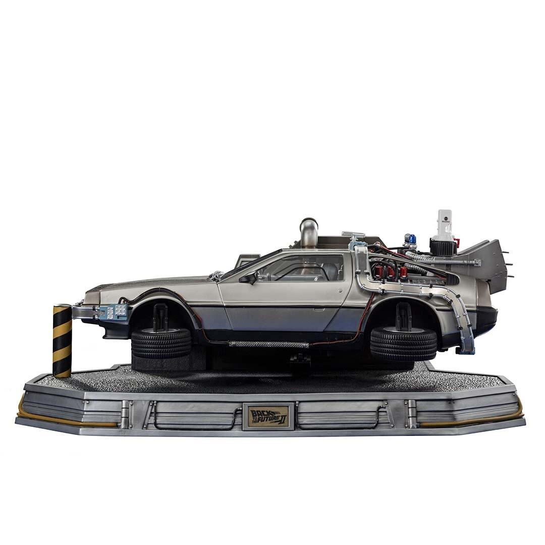 PRE-ORDER Iron Studios DeLorean Regular Version - Back to the Future Part II - Art Scale 1/10 (Store Pick Up Only)