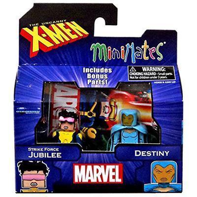 Diamond Select Marvel X-Men Vs. Brotherhood Minimates Series 60 Jubilee and Destiny Minifigure 2 - Pack