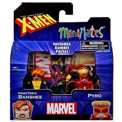 Diamond Select Marvel X-Men Vs. Brotherhood Minimates Series 60 Strike Force Banshee & Pyro Minifigure 2-Pack
