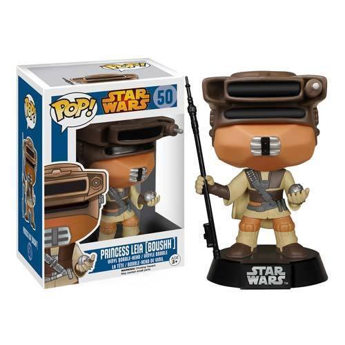 Funko Star Wars Boushh Leia Pop! Vinyl Bobble Head