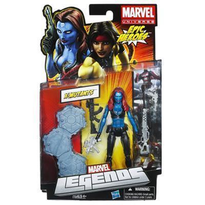 Hasbro Marvel Legends Classic X- Mutants Mystique Action Figure