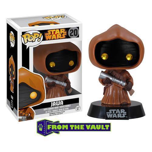 Funko Star Wars Jawa Pop! Vinyl Bobble Head