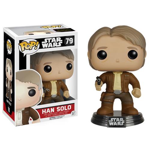 Funko Star Wars: Episode VII - The Force Awakens Han Solo Pop! Vinyl Bobble Head