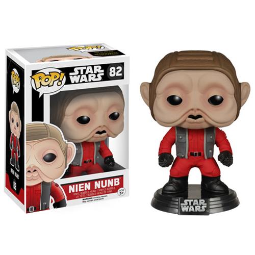 Funko Star Wars: Episode VII - The Force Awakens Nien Nunb Pop! Vinyl Bobble Head