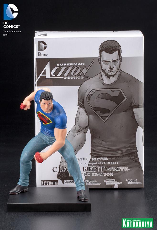 "Kotobukiya DC Universe Clark Kent New 52 ""Truth"" ARTFX + Statue"