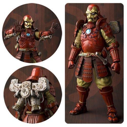 Bandai Samurai Iron Man Mark 3 Meisho Manga Realization Action Figure