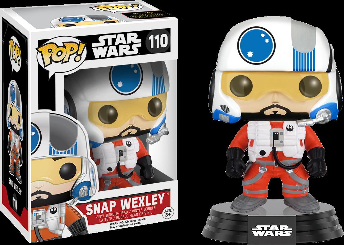 Funko Star Wars Episode VII: The Force Awakens - Snap Wexley Pop! Vinyl Figure