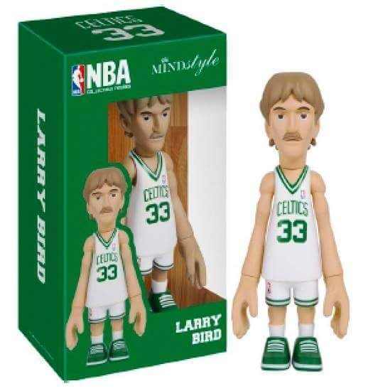 MINDstyle x Coolrain NBA Boston Celtics Larry Bird Arena Box Figure (White)