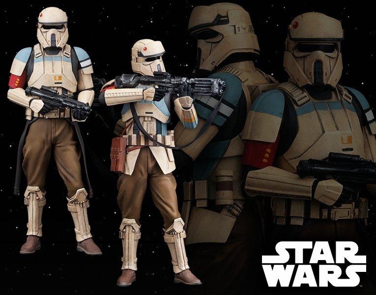Kotobukiya Rogue One A Star Wars Story Shoretrooper 2 Pack (Squad Leader & Captain) ArtFX+