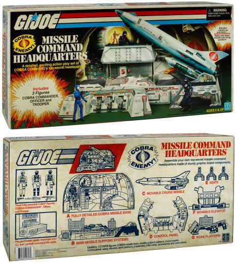 Hasbro SDCC 2017 G.I.Joe Exclusive Cobra Missile Command Headquarters