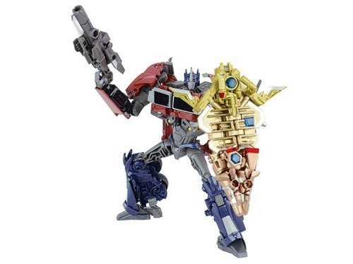 Takara Transformer Prime AM-01 Optimus Prime Exclusive with Battle Shield TRU Japan Exclusive