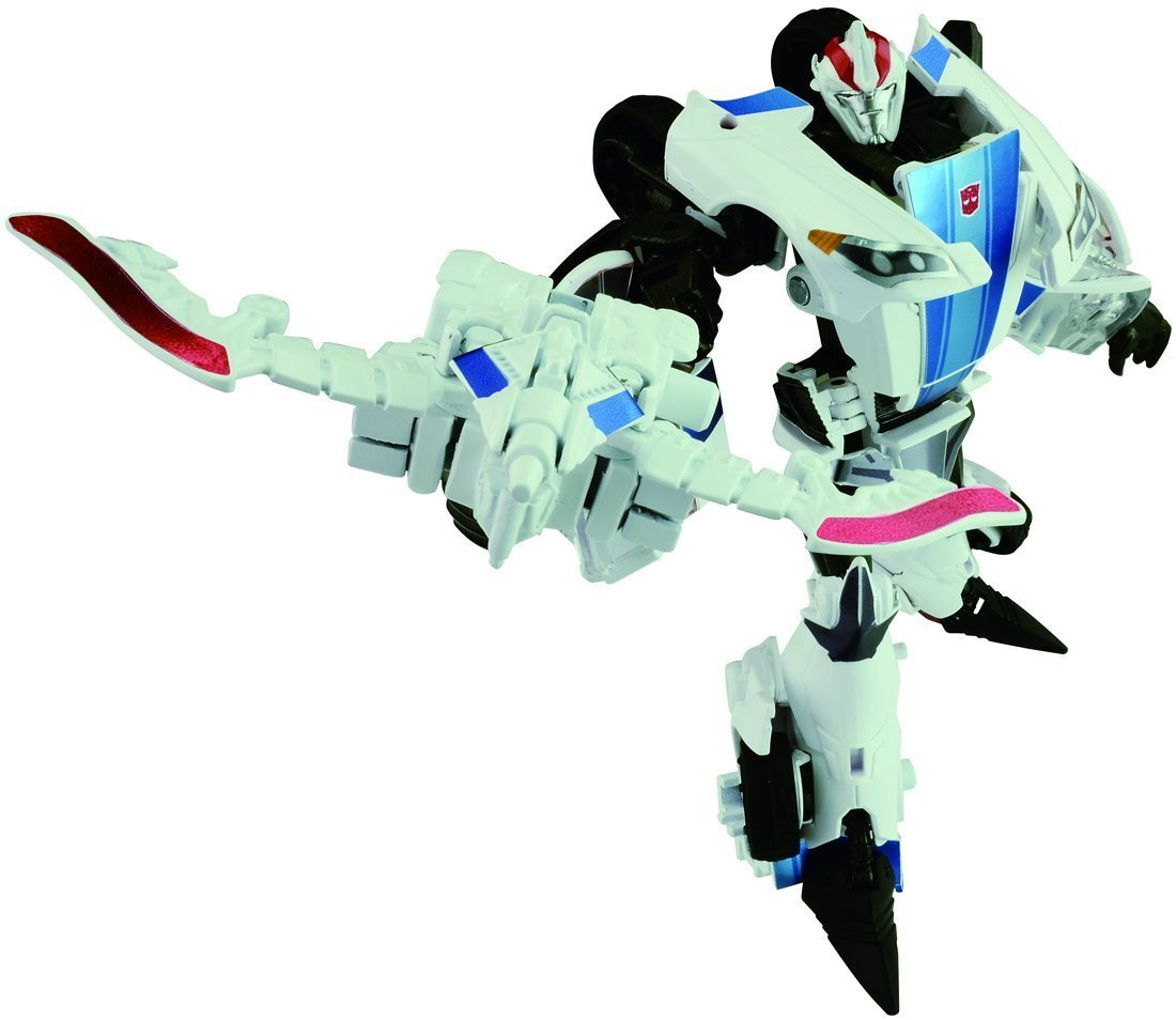 Takara Transformers Prime AM-26 Smokescreen With Micron Arms Action Figure