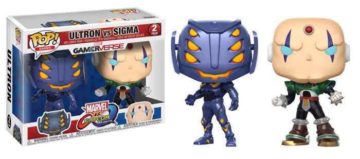 Funko Marvel vs Capcom Ultron Vs. Sigma 2Pack Pop! Vinyl Figure