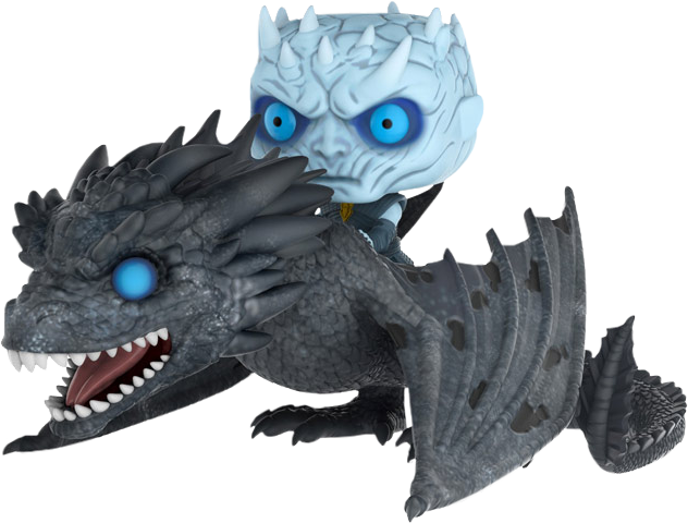 Funko Game of Thrones - Night King with Viserion POP! Ride Vinyl Figure