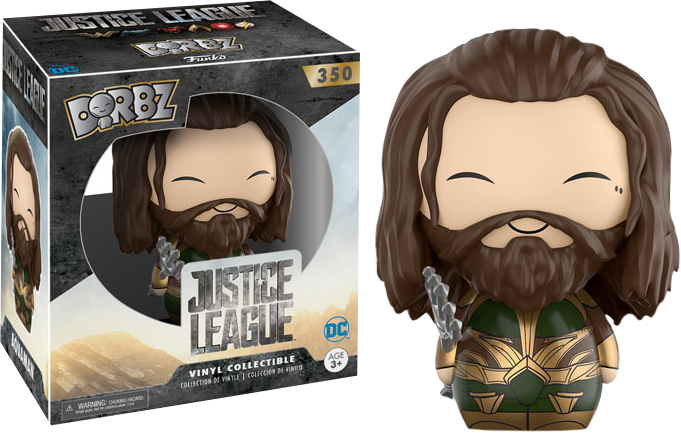 Funko Justice League 2017 - Aquaman Armored Dorbz Vinyl Figure