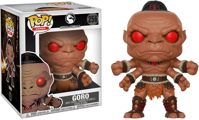 "Funko Mortal Kombat X - Goro 6"" Super Sized Exclusive Pop! Vinyl Figure"