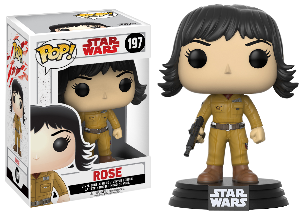 Funko Star Wars Episode VIII: The Last Jedi - Rose Pop! Vinyl Figure