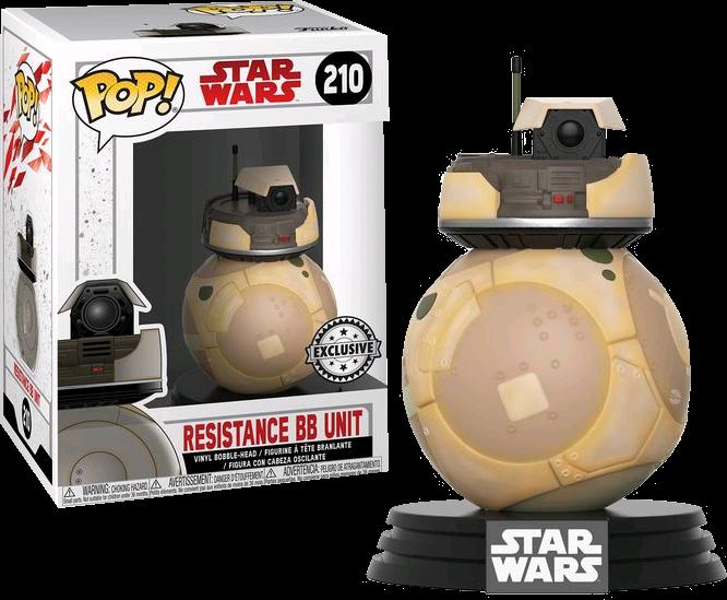 Funko Star Wars Episode VIII: The Last Jedi - Orange Resistance BB Unit Excluive Pop! Vinyl Figure