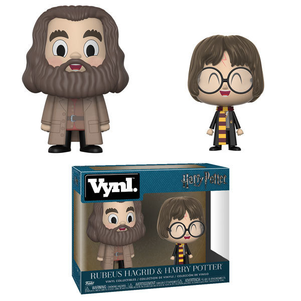 Funko Harry Potter - Harry and Hagrid Vynl. Vinyl Figure 2-Pack