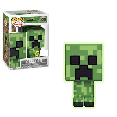 Funko Minecraft - Creeper Glow in the Dark Exclusive Pop! Vinyl Figure