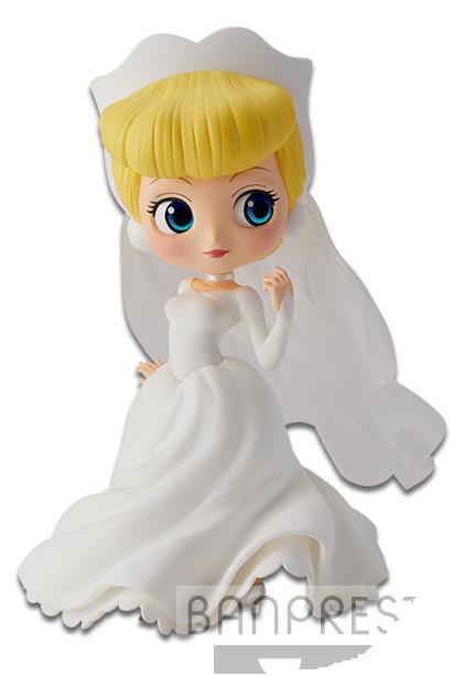 Banpresto Q Posket Disney Characters Cinderella Dreamy Style Pastel Ver.