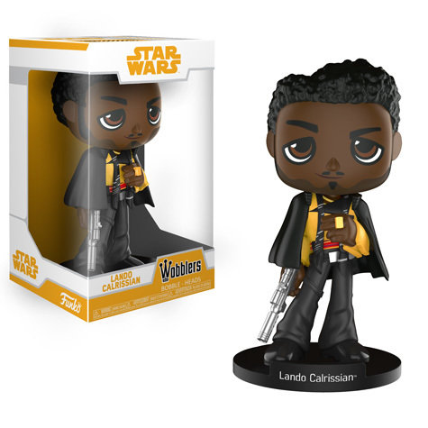 Funko Star Wars : Solo : A Star Wars Story Lando Calrissian Wobbler Bobblehead