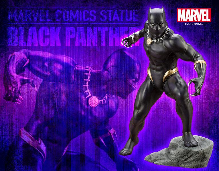Kotobukiya ARTFX+ Black Panther 1/10 PVC Figure