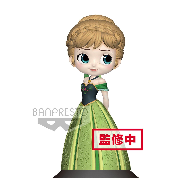 PRE-ORDER Banpresto Disney Characters Q Posket Anna Coronation Style Pastel Ver.