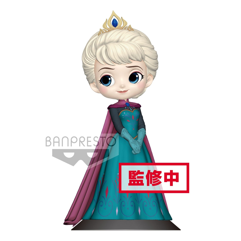 PRE-ORDER Banpresto Disney Characters Q Posket Elsa Coronation Style Pastel Ver.