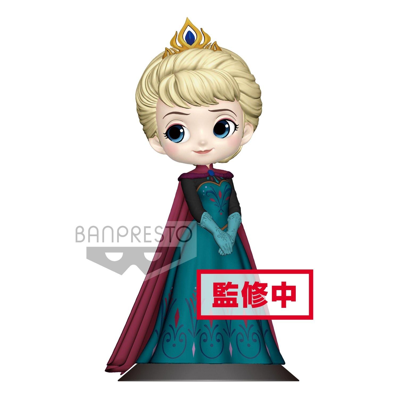PRE-ORDER Banpresto Disney Characters Q Posket Elsa Coronation Style Regular Ver.