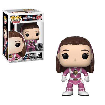 Funko Power Rangers Pink Ranger No Helmet Pop! Vinyl Figure