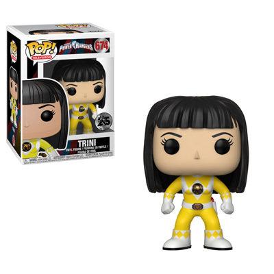 Funko Power Rangers Yellow Ranger No Helmet Pop! Vinyl Figure