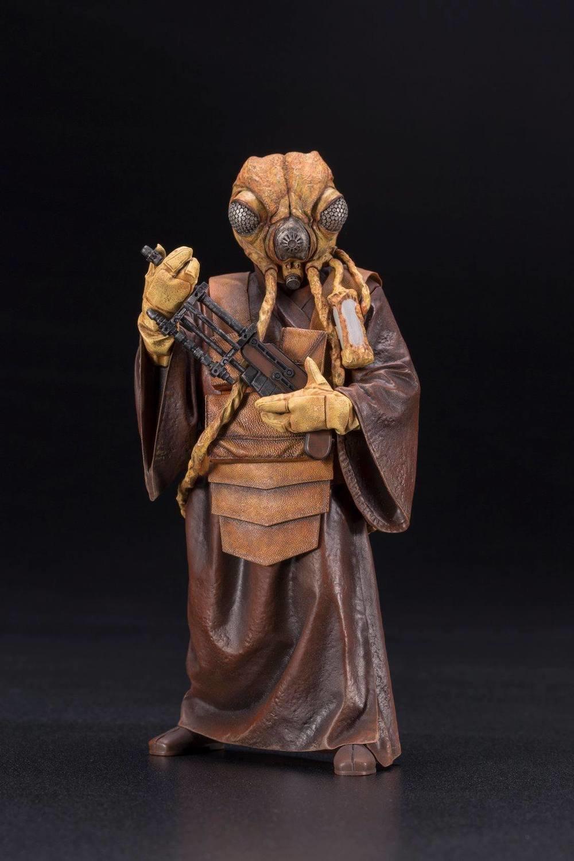 PRE-ORDER Star Wars Bounty Hunter Zuckuss ArtFX+ Statue