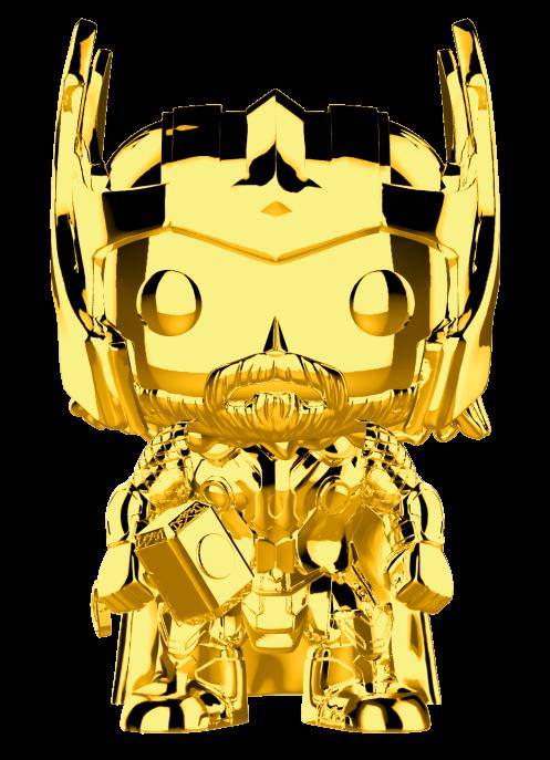 Funko POP Marvel: MS 10 - Thor (Chrome)