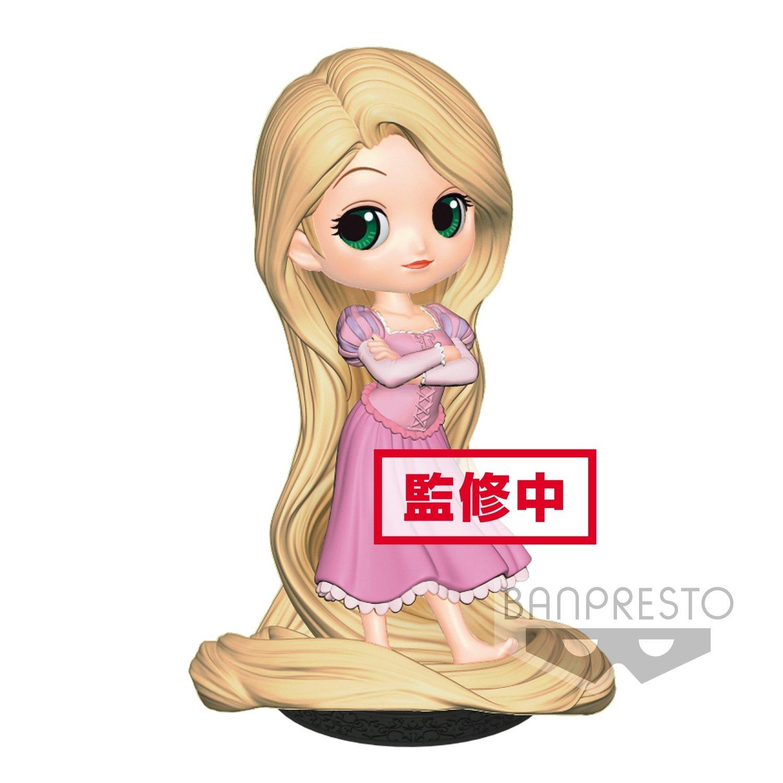 Banpresto Q Posket Dsiney Characters Rapunzel Girlish Charm Pastel Ver.