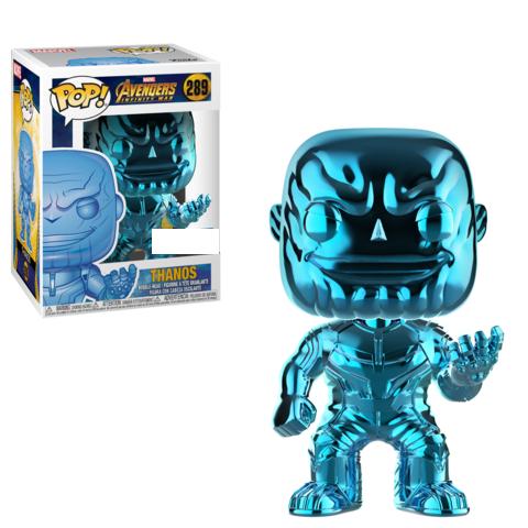 Funko POP Marvel: Infinity War - Thanos (BLUE)(CHROME)