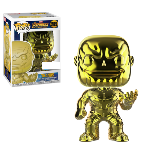 Funko POP Marvel: Infinity War - Thanos (YELLOW)(CHROME)