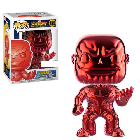 Funko POP Marvel: Infinity War - Thanos (RED)(CHROME)