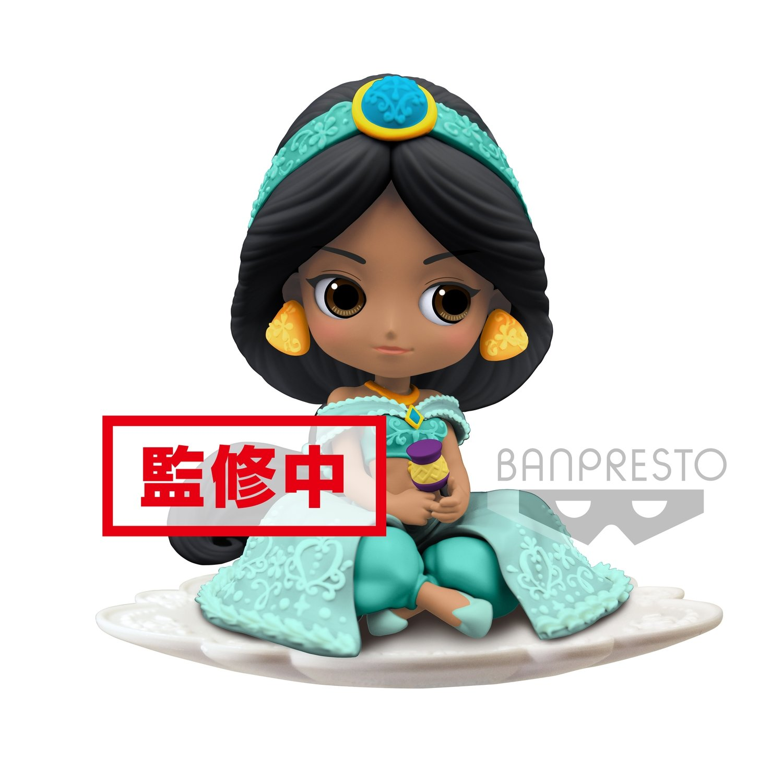 Banpresto Q Posket Sugirly Disney Jasmine Normal Ver.