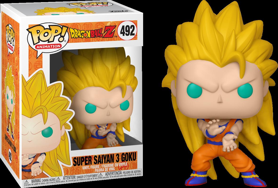 Funko Exclusive Dragon Ball Z - Super Saiyan 3 Goku Pop! Vinyl Figure (2nd batch)