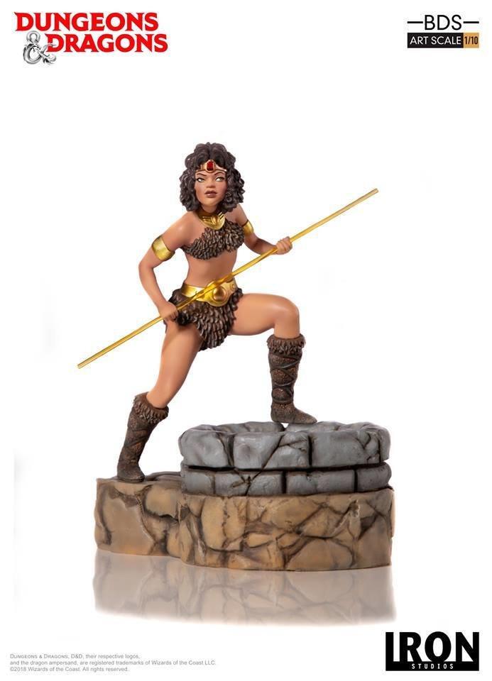 Iron Studios Diana, the Acrobat – BDS Art Scale 1/10 - Dungeons & Dragons