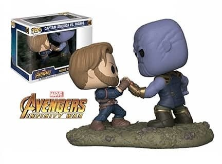 Funko Marvel Captain America vs Thanos Pop! Vinyl Figure Movie Moments