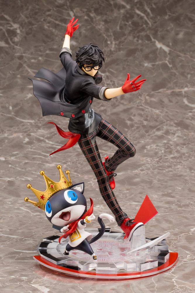 Persona 5 Hero & Morgana ARTFX J Statue