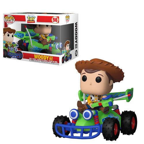 Funko Toy Story  Woody w/ RC Funko Pop! Ride Vinyl Figure