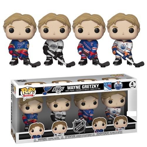 Funko NHL Hockey - Wayne Gretzky Pop! Vinyl Figure 4-Pack